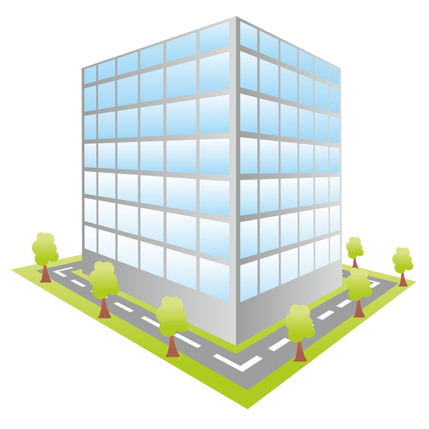 Office clipart small building Design Clipart Small Home For