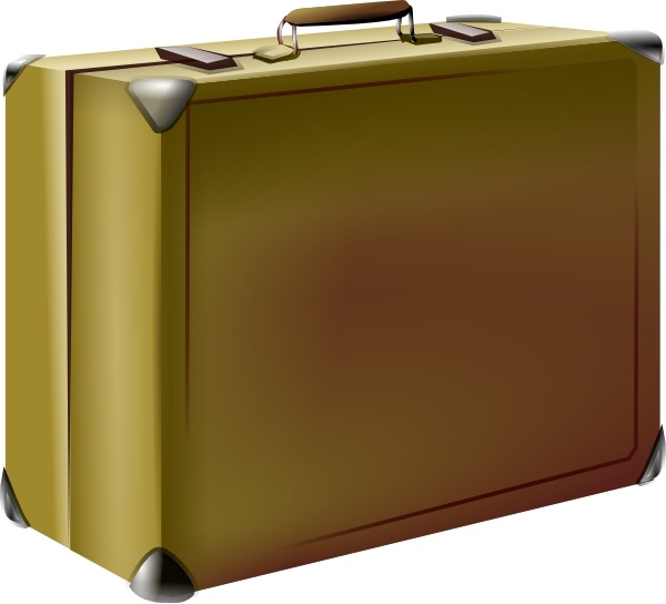 Office clipart suitcase Drawing clip svg vector Free