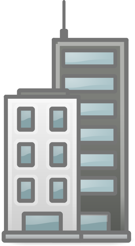Office clipart tall building Com Cliparting Clip office building