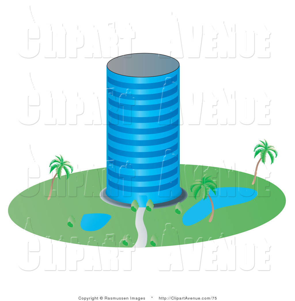 Office clipart tall building And the Free Stock Office