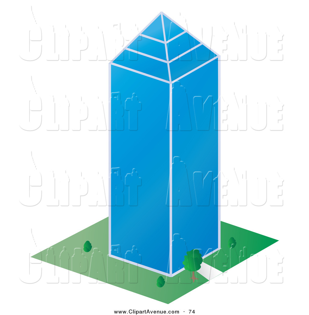 Office clipart tall building City Avenue Office Buildings a