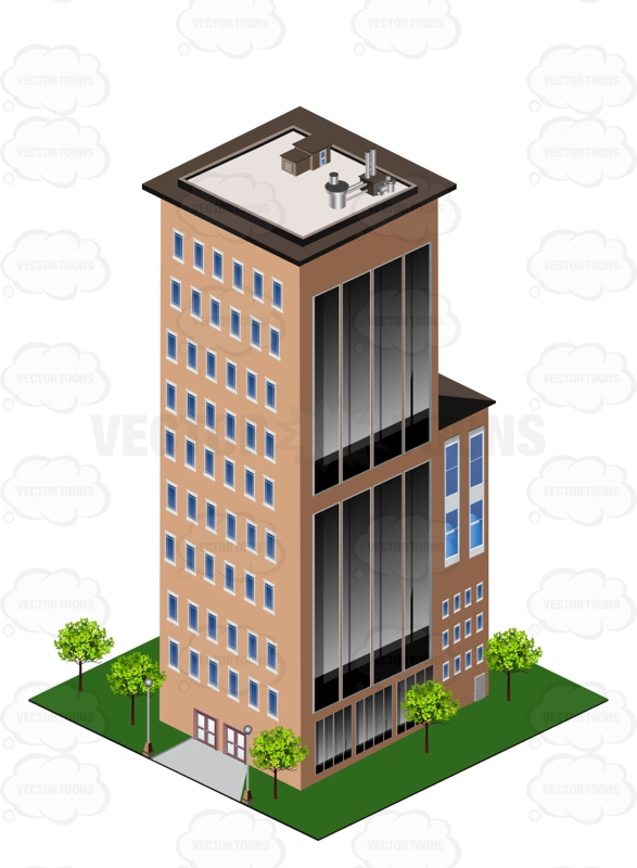 Office clipart tall building Clipart The Clipart Products City