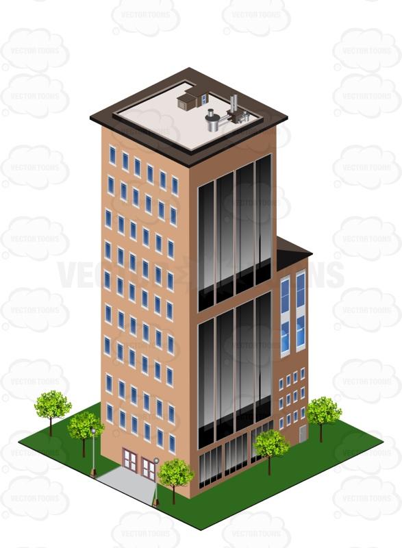 Bulding  clipart high building City Clipart Cartoon City City
