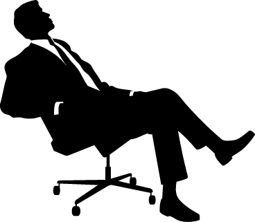 Office clipart thinking Free Clip Clipart Man Art
