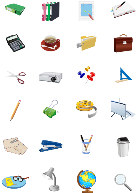 Office clipart vector Download Art Free Office Clip
