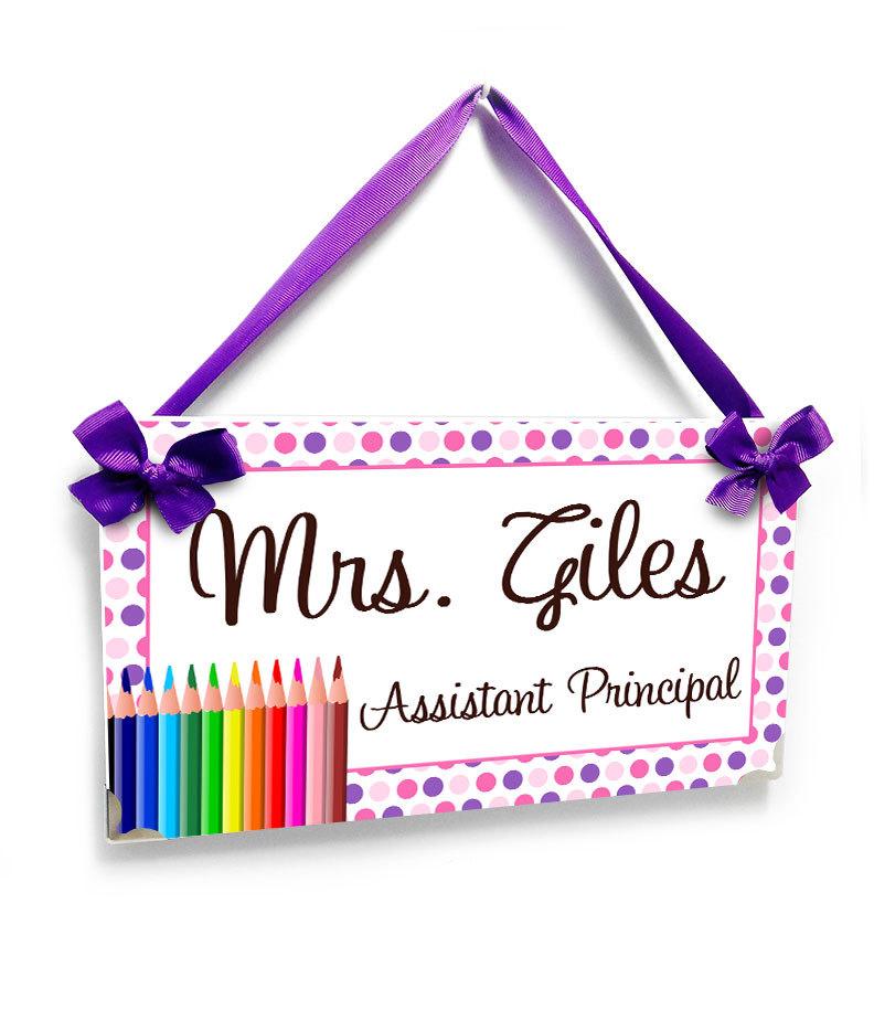 Door clipart principal's office Etsy dots Assistant office principal
