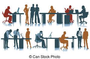 Office clipart workplace Office vector Clipart  Workplace