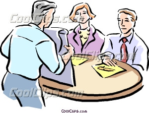 Office clipart workplace A people Business Clip meeting