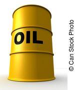 Oil clipart vector Rendered vector barrels Oil Clipart