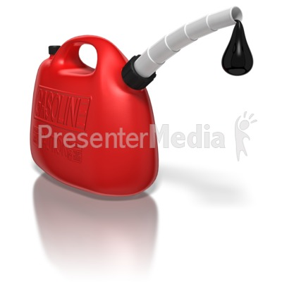 Oil clipart animated Can With Oil Dripping Gas