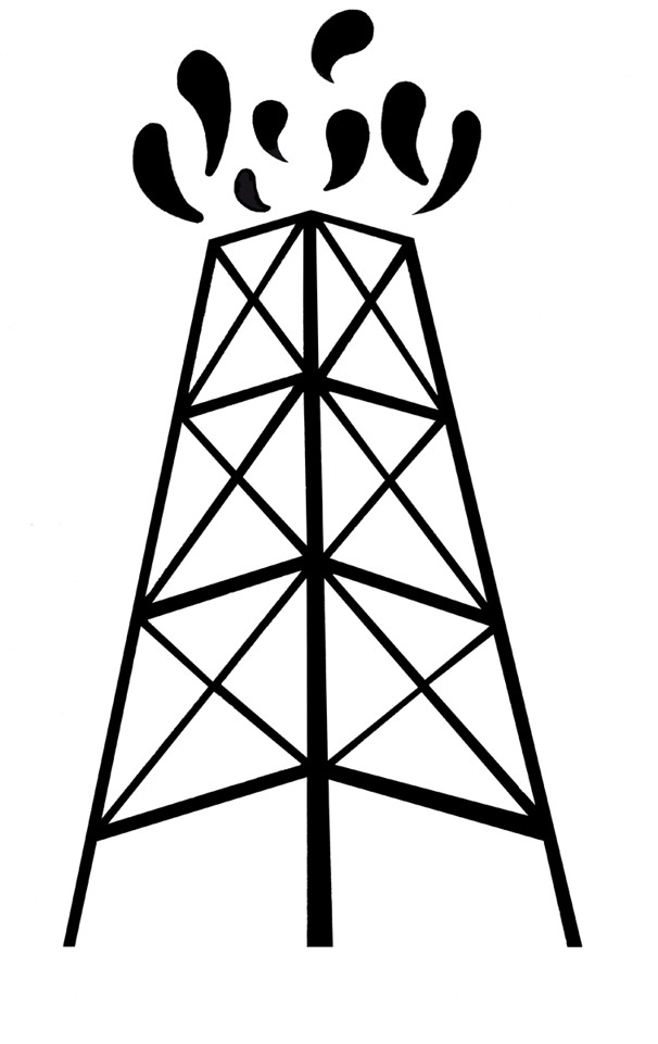Oil clipart animated Clipart Oil  Derrick Animated