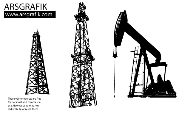 Oil Rig clipart old Free Clipart Clipart Derrick Free