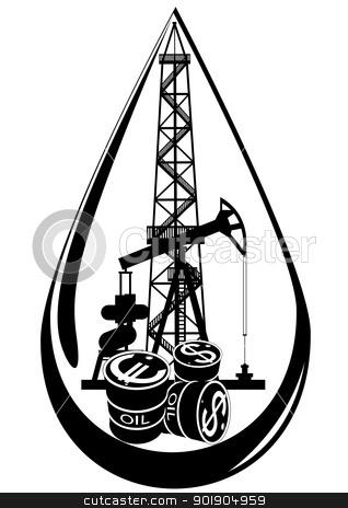 Oil Rig clipart oil derrick #4