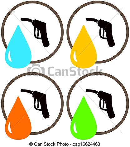 Oil clipart fuel Illustration Stock Stock station of