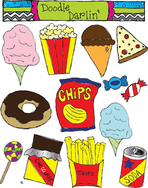 Oil clipart healthy junk food Canvas images HabitsHealthy Vintage Healthy