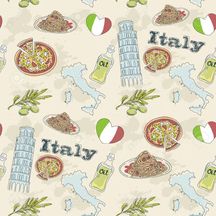 Oil clipart italy food Illustration Royalty Food on