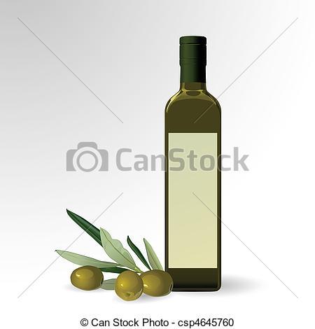 Oil clipart oil bottle Oil Clipart Vector bottle olive
