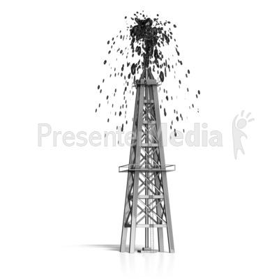 Oil clipart oil derrick Clipart  Derrick Oil Shooting