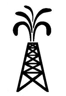 Oil clipart oil derrick Oil  on clip Illustration