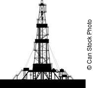 Oil Rig clipart oil derrick #5