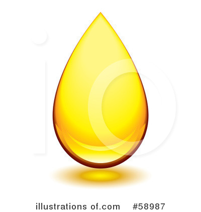 Oil clipart oil drop (RF) #58987 michaeltravers Illustration by