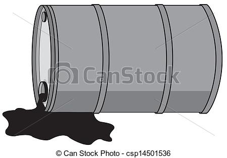 Oil clipart oil drum Barrel Vectors with oil csp14501536