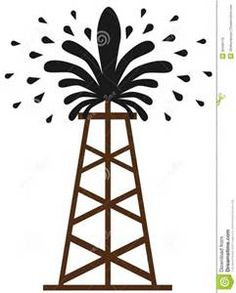 Oil Rig clipart old Derrick & oil Clip Clipground