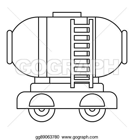 Oil clipart outline  storage outline illustration tank