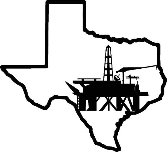 Oil clipart outline Texas Texas Outline Oil Outline