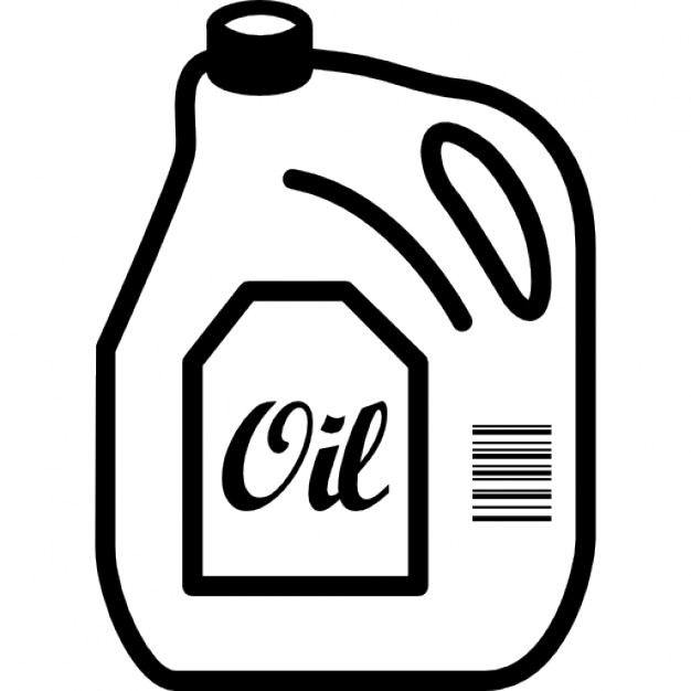 Oil clipart outline Icons outline label Free Icon