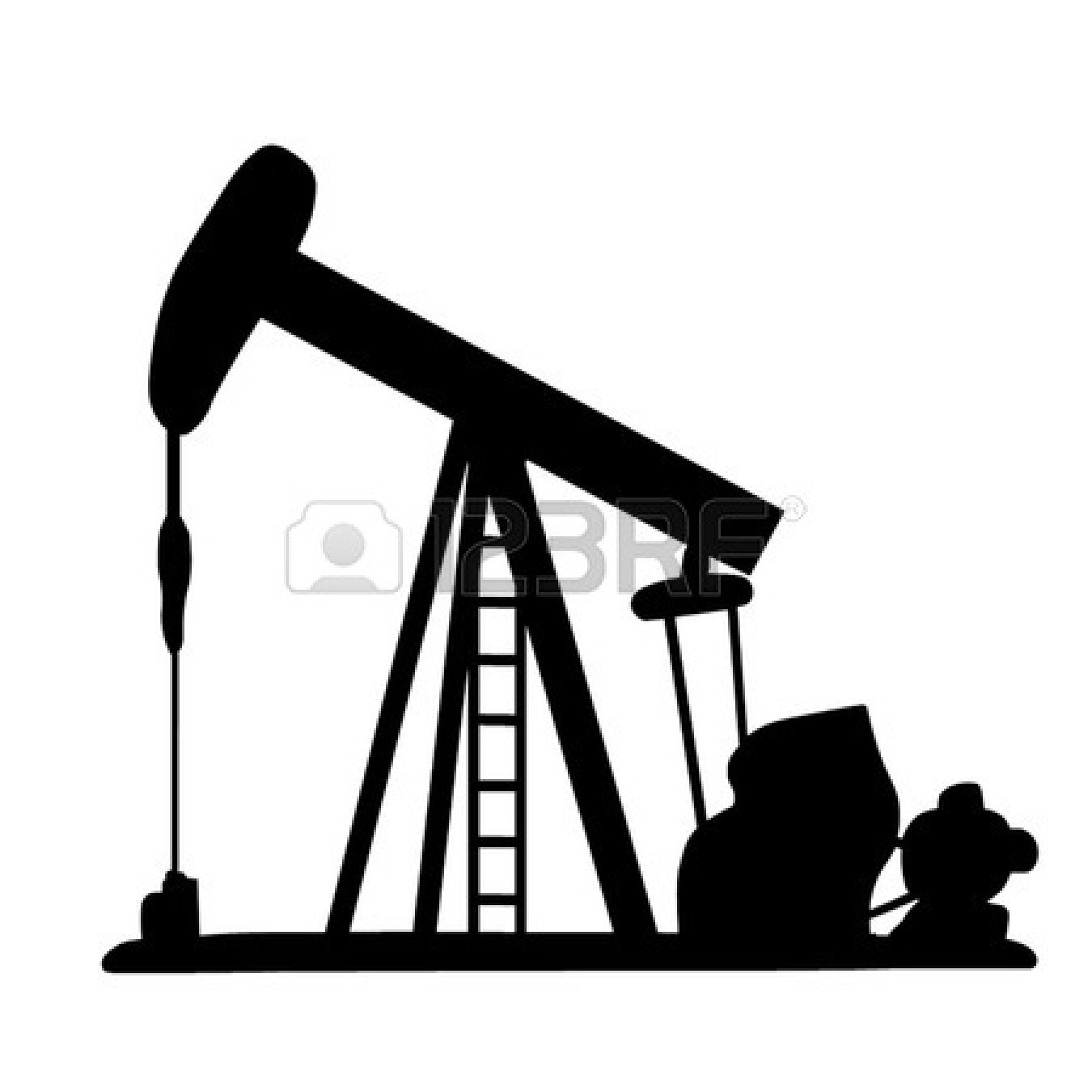 Field Pumpjack Clipart Collection clipart