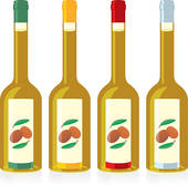 Oil clipart salad dressing Royalty GoGraph isolated oil bottles