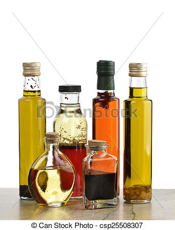 Oil clipart salad dressing Photography Olive Dressing Oil Bottles