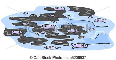 Oil clipart spil Illustration  Fishes Oil Stock