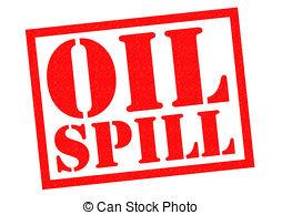 Oil clipart spillage Over white Clipart background SPILL