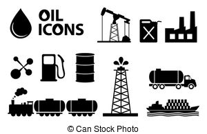 Oil clipart vector Of drops oil of oil