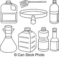 Oil clipart vegetable oil Of oil set  Graphics