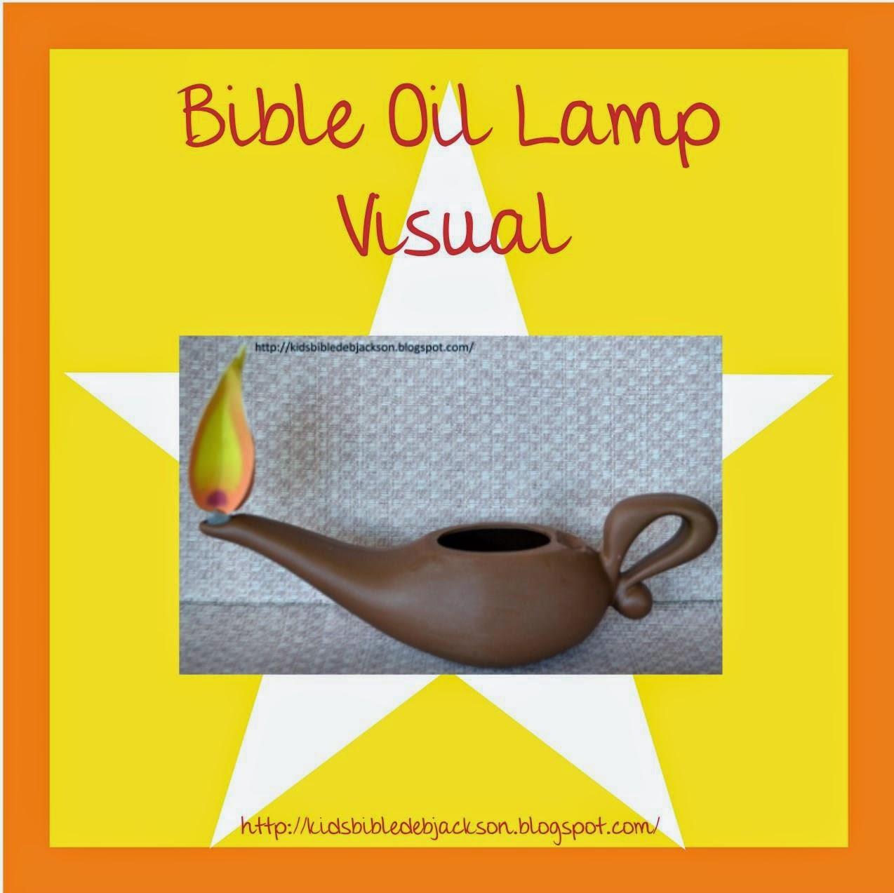 Oil Lamp clipart biblical Bible Oil Bible Fun Oil