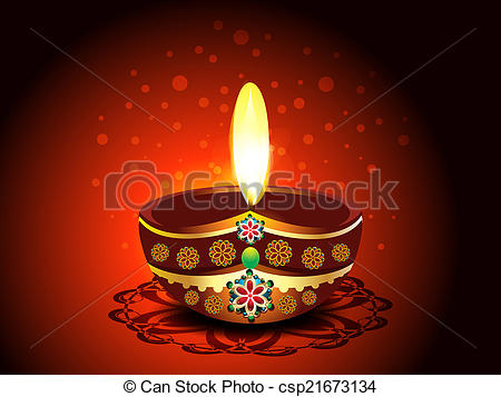 Oil Lamp clipart dipak Diwali vector Diwali Background absrtract