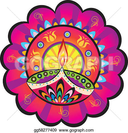 Oil Lamp clipart pongal Indian lamp Art Clip Diwali