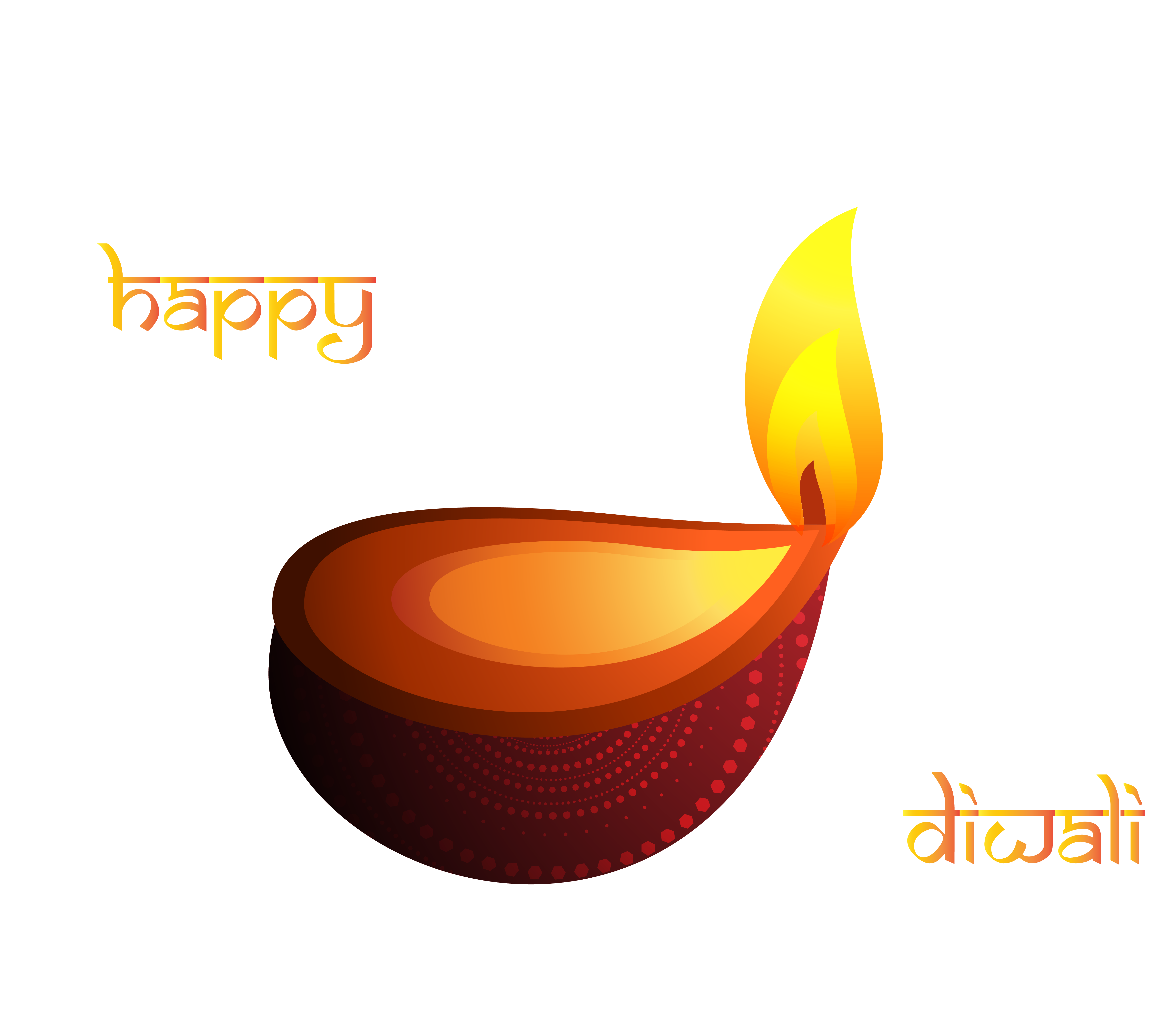 Oil Lamp clipart diwali decoration  Happy Clipart Decoration full