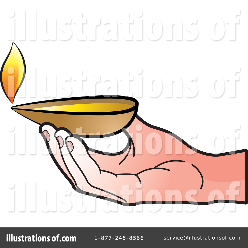 Oil Lamp clipart hand Clipart Illustration by Oil Oil