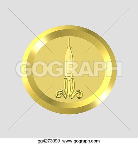 Oil Lamp clipart rocket Icon Stock rocket 3d GoGraph
