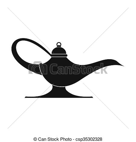 Oil Lamp clipart simple East of icon  Art