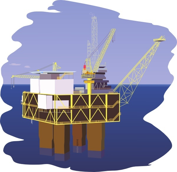 Oil Rig clipart #8