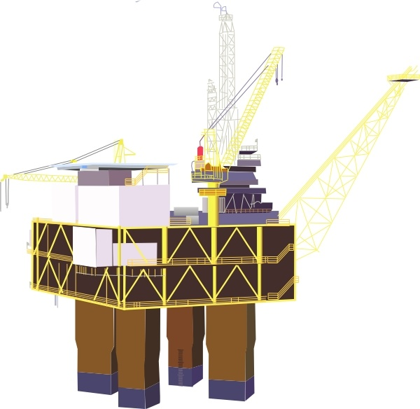 Oil Rig clipart #9