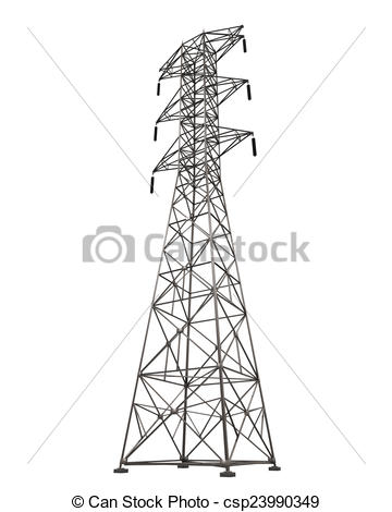 Oil Rig clipart electric tower #3