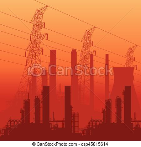 Oil Rig clipart industrial building #4