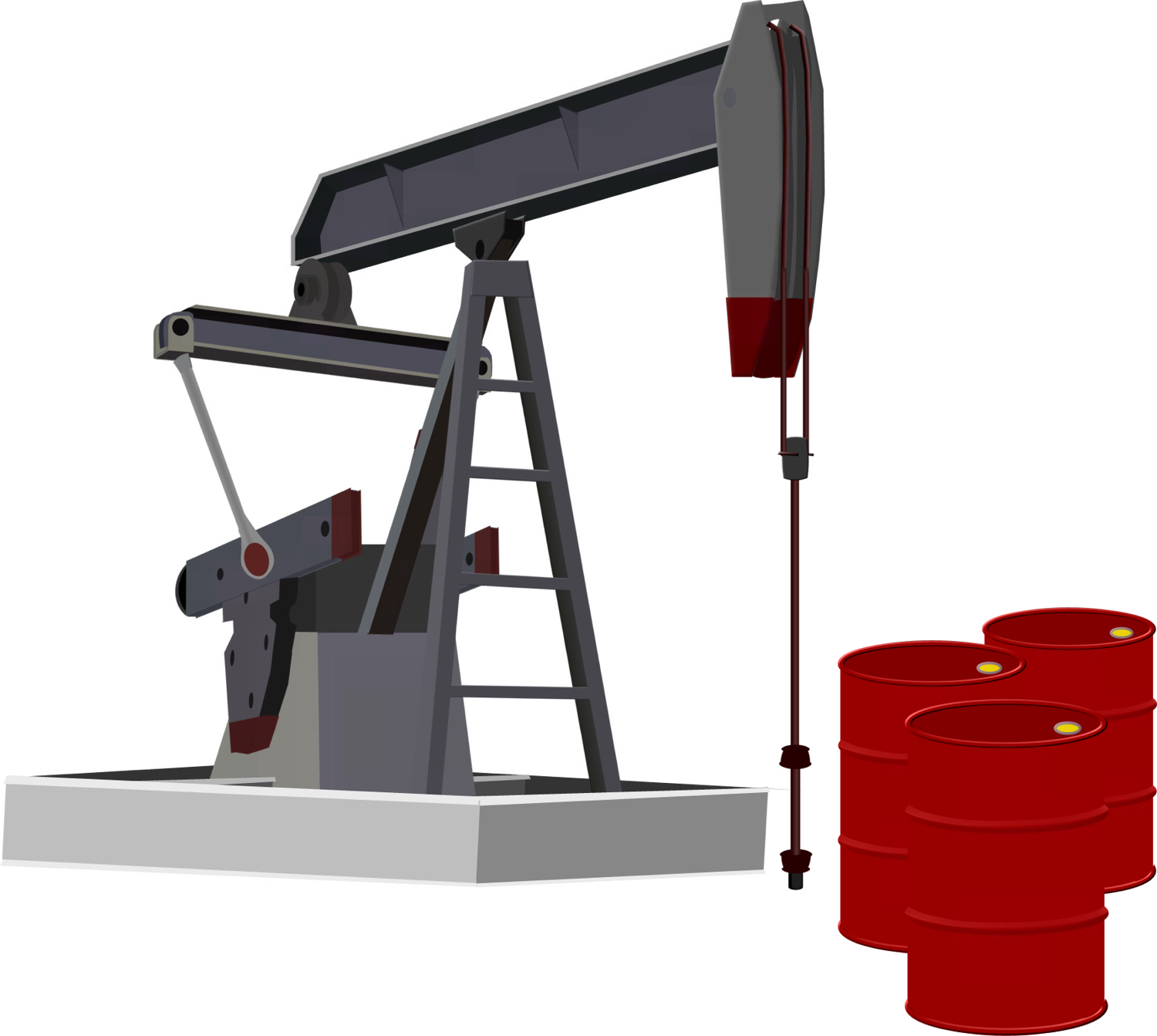 Oil Rig clipart oil well #6