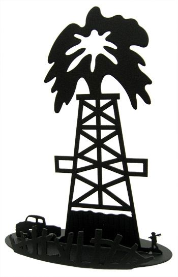 Oil Rig clipart oil well #5